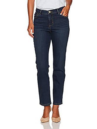 475b9ce8837 Lee Womens Petite Instantly Slims Classic Relaxed Fit Monroe Straight Leg  Jean, Ellis, 16