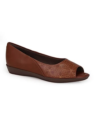 21f475f9d1 Piccadilly Peep Toe Rasteiro Piccadilly