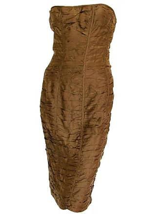78ddf67dd8e Gucci Fantastic Gucci By Tom Ford 2001 Ruched Silk Corset Dress