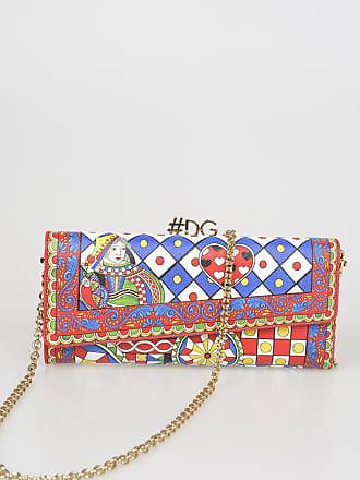 348d75953aa4e Dolce   Gabbana Wallet Bag in Pelle Stampata taglia Unica
