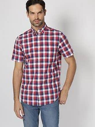Chaps Camisa con Cuadros<br>Rojo y Azul