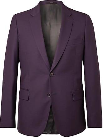 Paul Smith Aubergine Soho Slim-fit Wool Suit Jacket - Purple