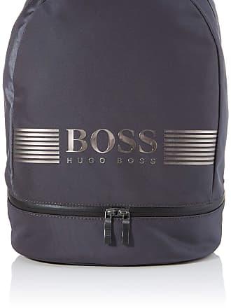 BOSS Pixel Ml_backp Pock Mens Backpack, Grey (Dark Grey), 18x43x30 centimeters (B x H x T)