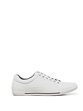 Kenneth Cole Reaction Mens Short Story Fashion Sneaker, White, 7 M US