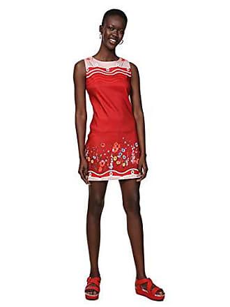 7291b5f812bfc Desigual Dress Sleeveless Patrice Woman Red