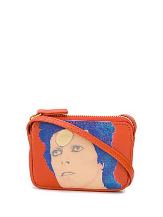 Undercover Bolsa tiracolo pequena David Bowie - Laranja