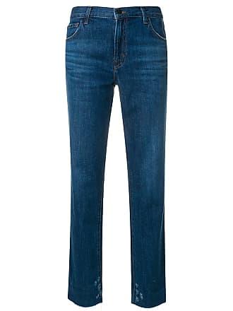 J Brand Calça jeans reta - Azul