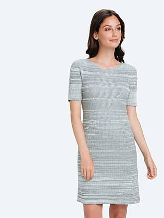 3c7c9a69d9 Ministry of Supply 3D Print-Knit Sweater Dress - Barcode Grey size XS