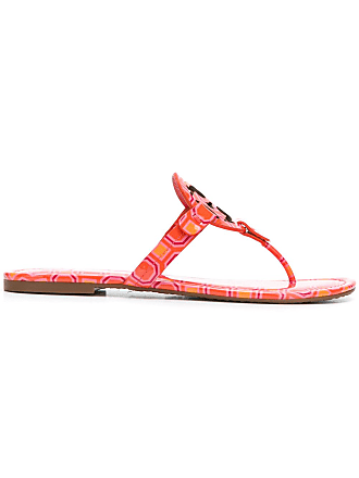 41311320c Tory Burch Miller printed sandals - Yellow