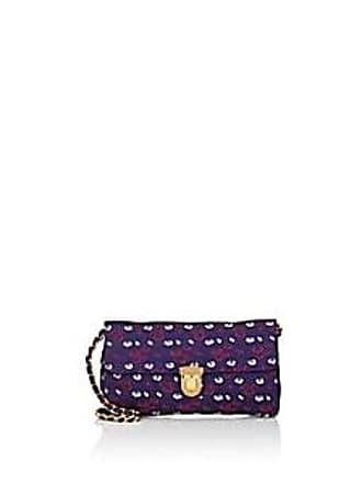 ddc429fda4e3 Prada Womens Floral Shoulder Bag - Purple