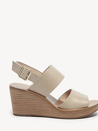 ac8d1cf2eb6 Sole Society Womens Pavlina Platform Wedges Night Taupe Size 6 Leather From Sole  Society