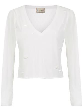 Andrea Bogosian T-shirt com vazados - Branco