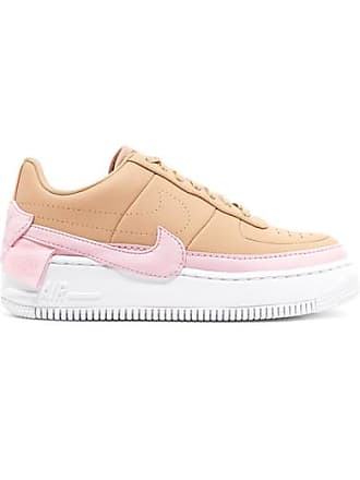 Nike Air Force 1 Jester Xx Leather Sneakers - Beige
