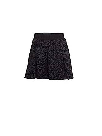1cfefa3bc Vero Moda Womens Cary Skater Skirt with Velvet Brocade, Navy Blazer, 40