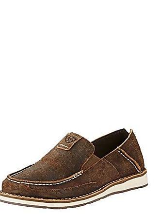Ariat Ariat Mens Cruiser Slip-on Shoe, Rough Oak, 11 2E US