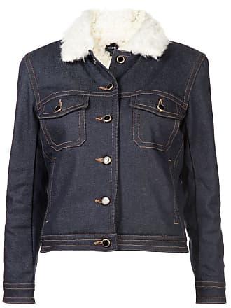 Khaite Jaqueta jeans - Azul