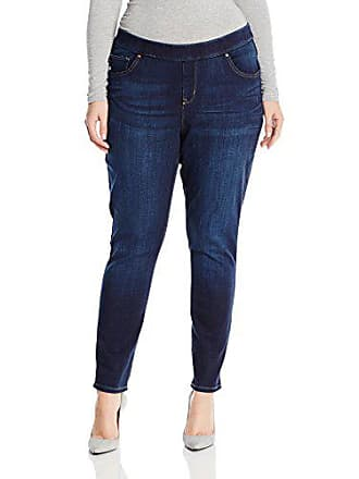 Lee Lee Womens Plus Size Modern Series Midrise Dream Jean - Harmony Legging, Electric, 26W Petite