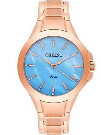 Orient Relógio ORIENT rosê azul feminino FRSS0017 A1RX