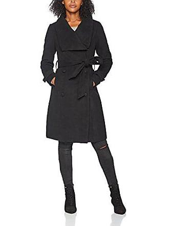 Soaked In Luxury 30402229-Cappotto Donna Nero (Black 40050) 38 b3249dacd43