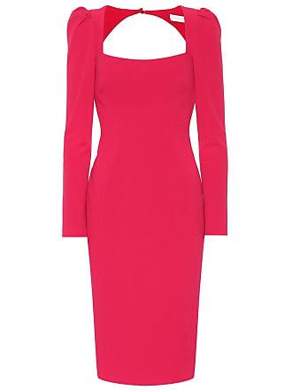 Rebecca Vallance Briar crêpe cutout dress