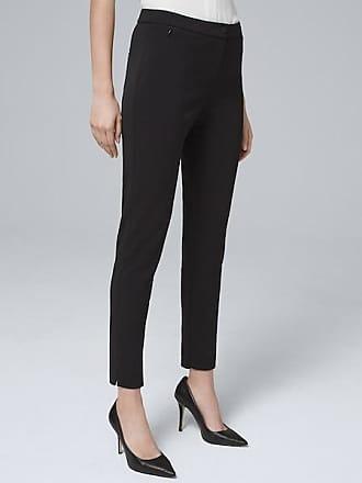 White House Black Market Womens Essential Slim Ankle Pants by White House Black Market, Black, Size 00 - Regular