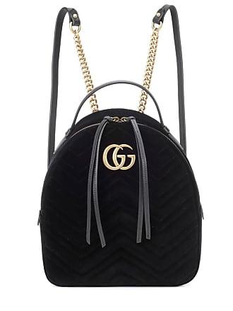 f5e41231307 Gucci Sac à dos en velours GG Marmont