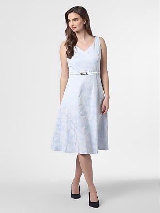 Comma Damen Kleid blau