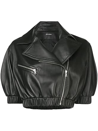Yigal AzrouËl cropped biker jacket - Black