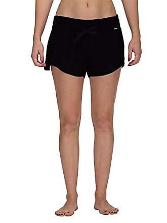 Hurley Womens Apparel Womens Beach Short Elastic Waist, Black, S