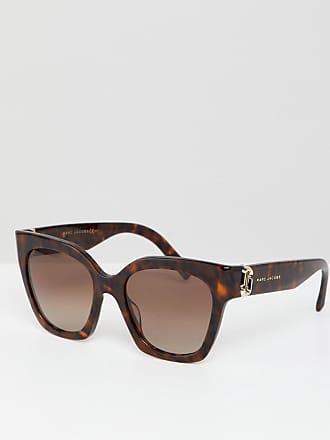 Marc Jacobs Lunettes de soleil yeux de chat - Écaille de tortue - Marron 714e08f1a0fe