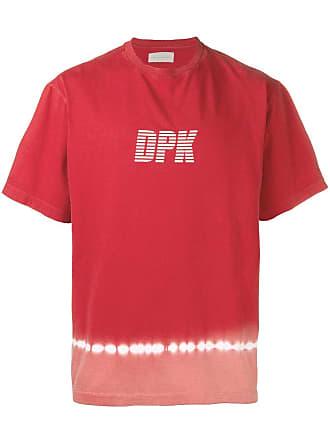 Paura Camiseta com estampa tie dye - Vermelho