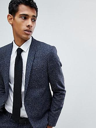 Noak Prickig kostymjacka med extra smal passform - Marinblå 0ca4db60cbdd7