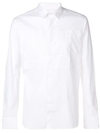 Les Hommes pleated shirt - Branco