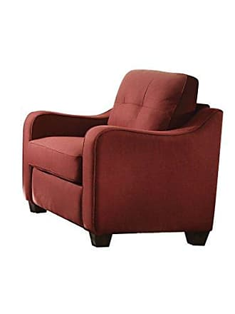 ACME 53562 Cleavon II Chair, Red Linen