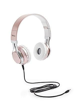 Forever 21 Forever 21 Gabba Goods Metallix Foldable Wireless Headphones Rose Gold