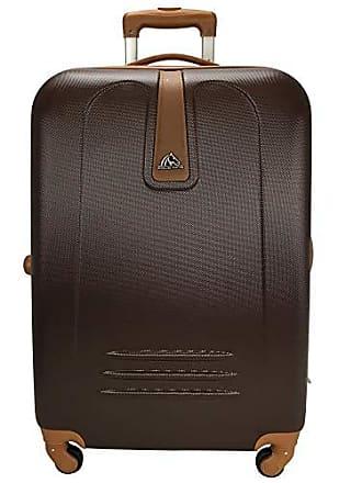 Polo King Mala de Viagem M 24 360º Las Vegas Luxcel MF10042PK 24 - Marrom