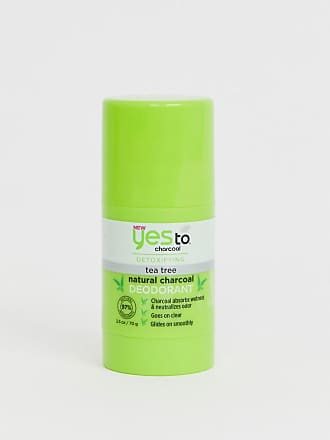 Yes To Yes To Detox Charcoal Natural Deodorant: Charcoal & Tea Tree-No Colour