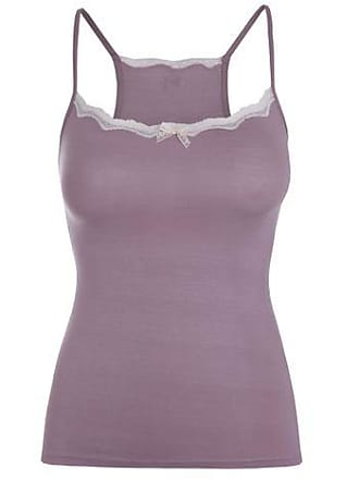 LOUNGERIE Camisete modal lace - Roxo