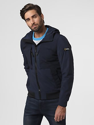 National Geographic Herren Jacke blau