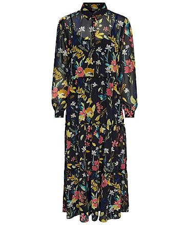 only zwarte lange jurk