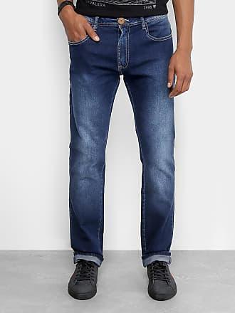 44f9c1b080 Cavalera Calça Jeans Slim Cavalera Clássica Estonada Masculina - Masculino