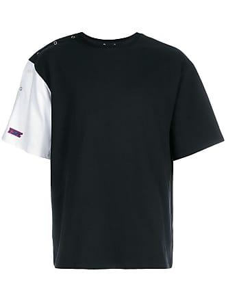 Youser Camiseta com botões de pressão no ombro - Preto