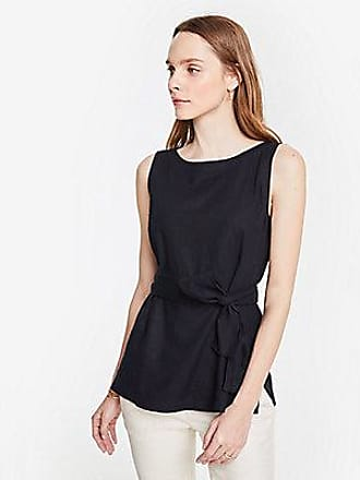 ANN TAYLOR Belted Tunic Shell