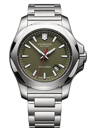 Victorinox by Swiss Army Mens Inox Bracelet Watch, 43mm