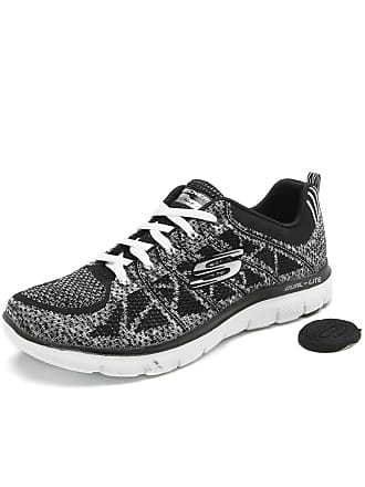 Skechers Tênis Skechers Flex Appeal 2.0-New Gem Preto