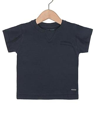 Tigor T. Tigre Camiseta Tigor T. Tigre Manga Curta Menino Azul