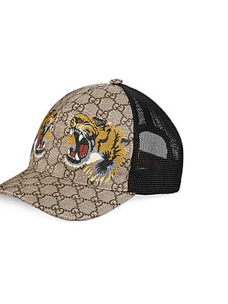 2958234c85527 Gucci Casquette Suprême GG à imprimé tigre