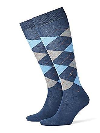 62ab034a64f Burlington Manchester Chaussettes montantes Homme Bleu (Blue B.Petmel 6220)  40 46