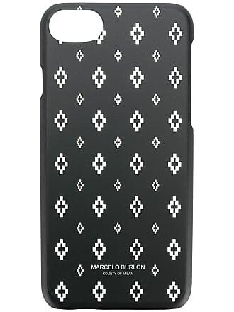 Marcelo Burlon Capa para iPhone 7 - Preto