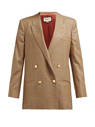 Gucci Blazer en laine pied-de-poule à double boutonnage 6f883a02b6b4